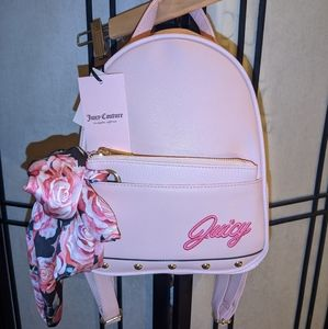 Juicy Couture In Bloom backpack NWT